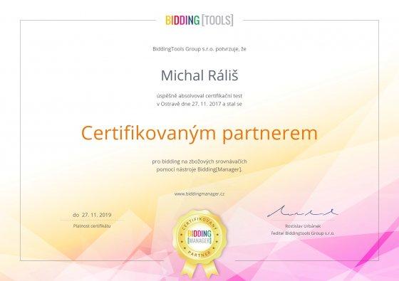 Certifikovaný partner Bidding manager